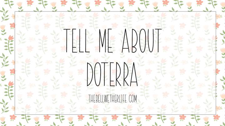 Tell me aboutdoTERRA