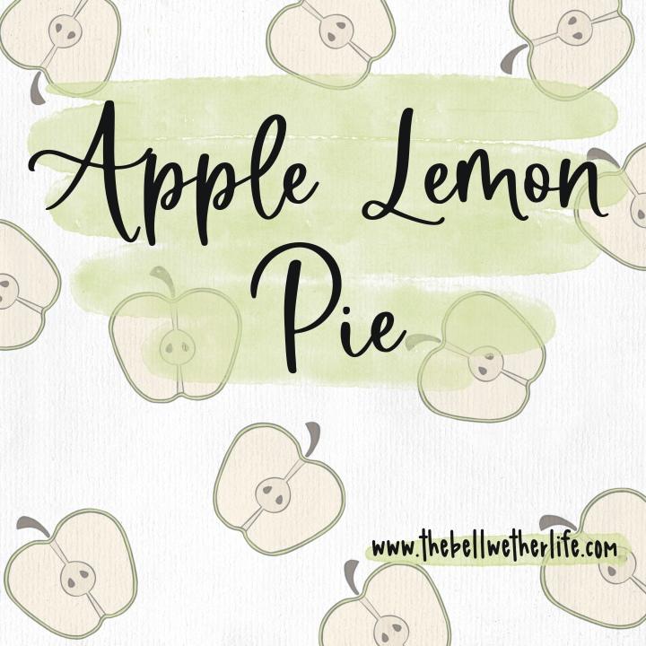 Apple Lemon Pie